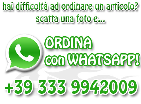 ordina con whatsapp alla maxi car racing